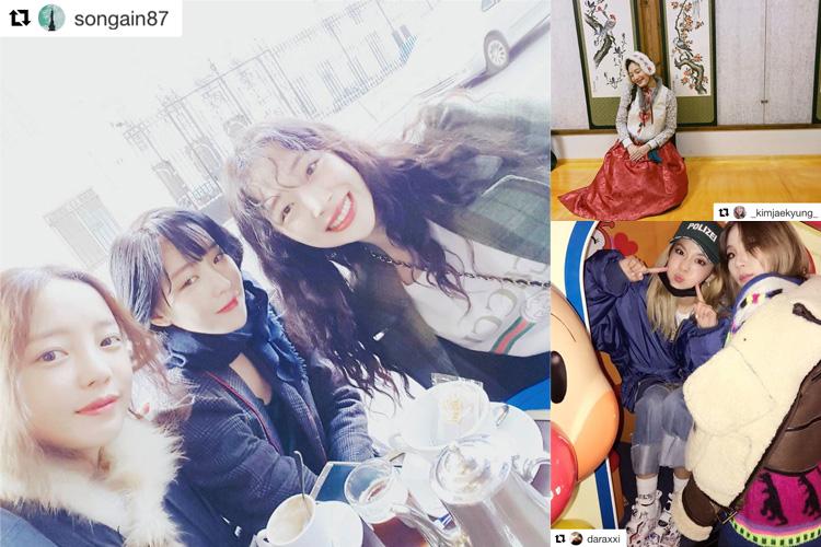 韓国セレブたちの旧正月の過ごし方をチェック♡