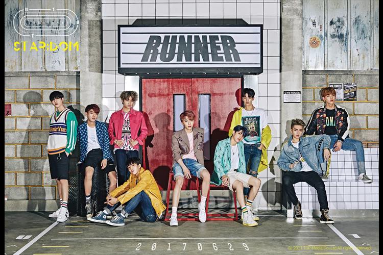 UP10TION、米ファン熱狂!新曲『시작해(Runner)』KCONで初公開