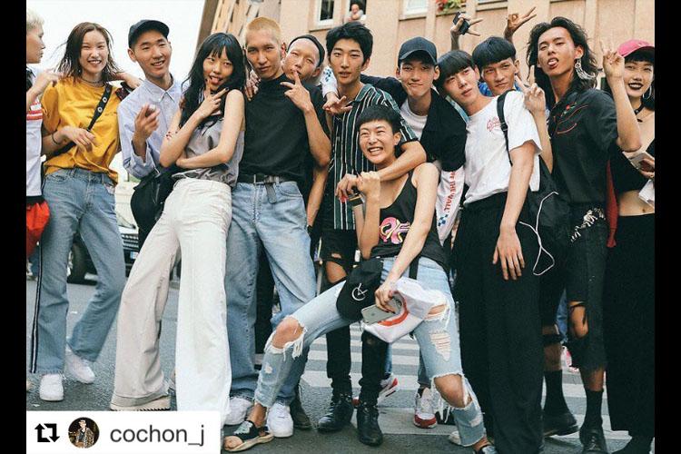 パリコレでトリを飾った「KENZO」韓国人モデルも多数出演!