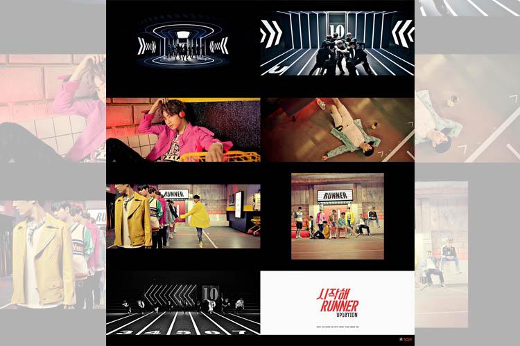 UP10TION、新曲『시작해(Runner)』MVを公開!!