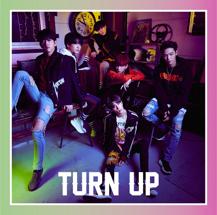 GOT7『TURN UP』初回生産限定盤D J写