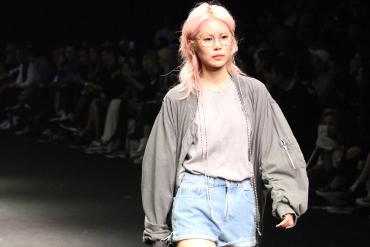 ストリートファッション好き必見!ピンクヘアの個性派韓国モデルアン・アルム