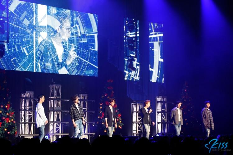 ラッパーラインのボーカルパフォーマンスも!?『2016 TEEN TOP Christmas Special Concert in Tokyo』夜公演レポート