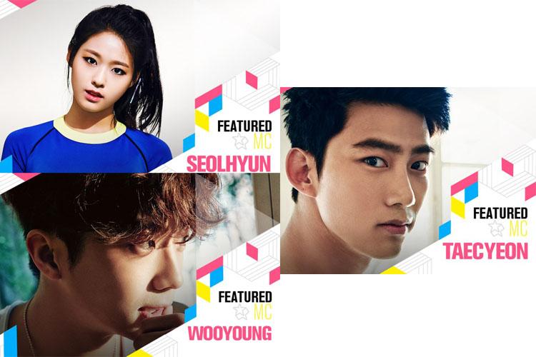 『KCON 2016 Japan × M COUNTDOWN』ソルヒョン(AOA)、ウヨン(2PM)、テギョン(2PM)スペシャルMCに追加決定!