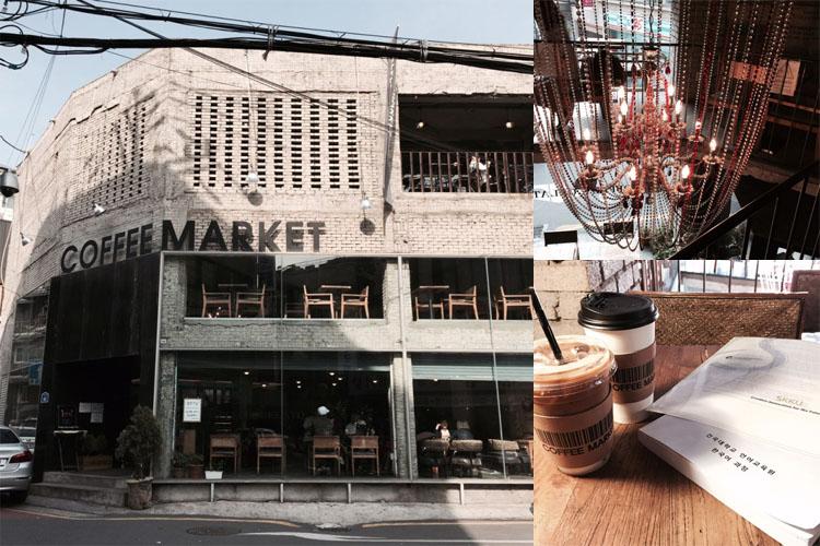 建大(コンデ)で発見!カフェ大好き韓国学生の御用達カフェ『COFFEE MARKET』