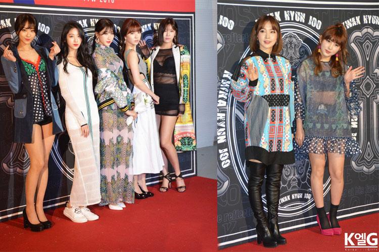 4minute,EXID,Girl's Day,ニコルも最新ファッションでファッションウィークに登場!センスがいいのは誰?