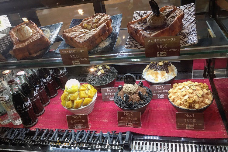 今話題の심쿵(胸キュン)デザート♡ピンスを大阪でも食べれちゃう!