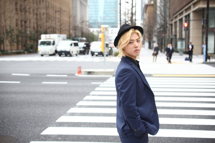 いま韓国で最も有名な日本人KangNam(カンナム)、日本1stシングルのジャケット写真を公開!