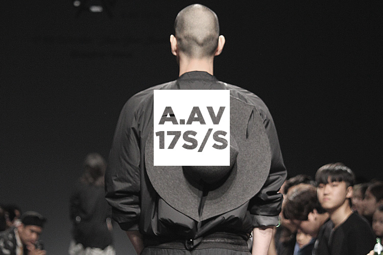 無彩色中心で魅せる、シンプルで着やすいメンズブランド A.AV
