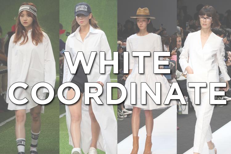 今夏はホワイト!韓国ブランドのホワイトアイテムでワンランク上のコーディネートを楽しむ!
