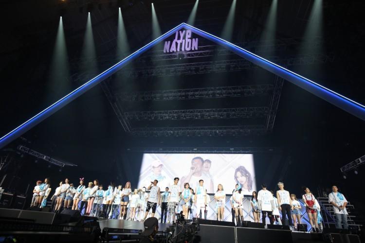 2PM、GOT7、TWICEが競演!2年振りのJYP Nation、大盛況!