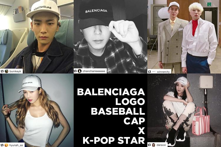 大人気!K-POPアイドルたちのBALENCIAGAキャップの着こなしをチェック