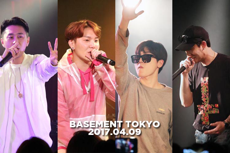 韓国の実力派アーティストが集結!『Basement Tokyo』初公演レポート