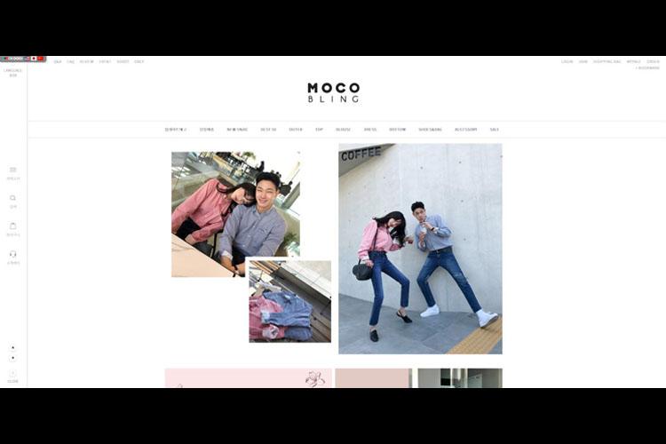 韓国通販サイト『MOCOBLING』3rdSpringにて3月24日OPEN