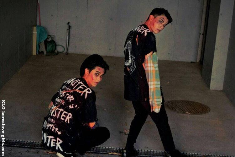 "EXO""Monster""の世界観を完全再現!!Doyunのカバーメイク術"