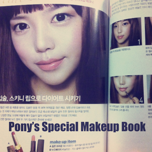 pony's special makeup book
