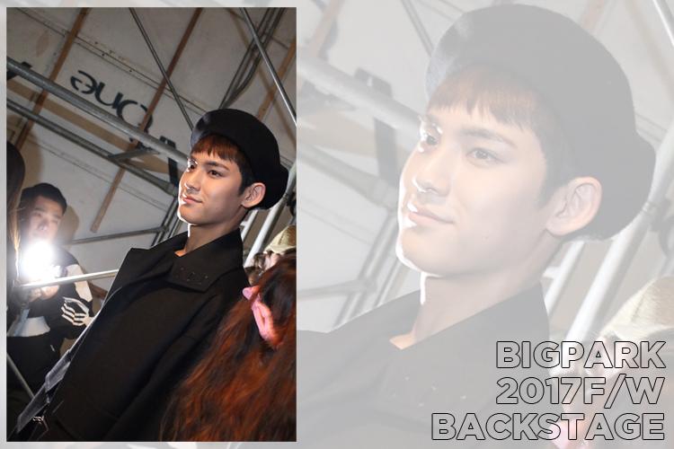 SEVENTEEN 的Min Gyu擔任模特兒!BIGPARK後台直擊!