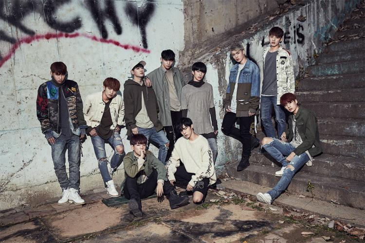 新世代K-POPスター・UP10TION 韓国5th Mini Album [BURST] 発売記念 2017年1⽉22⽇(⽇)にSHOWCASE開催決定!!