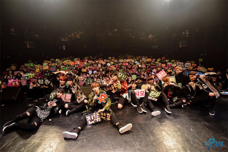 """""""本当に心から幸せな時間でした!"""" UP10TION 5th Mini Album [BURST] JAPAN SHOWCASE"""