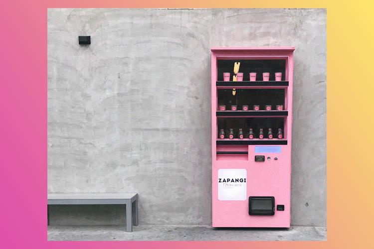 カフェの扉に一目惚れ!ソウルの新たなフォトスポットZapangi
